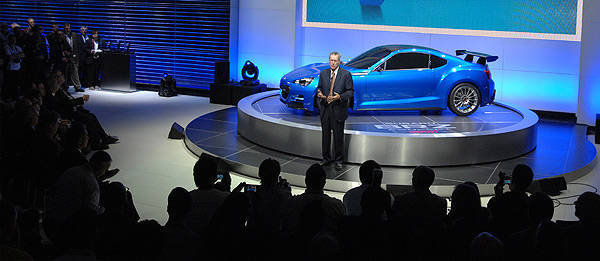 TopGear.com.ph Philippine Car News - Subaru BRZ Concept - STI breaks cover at LA Auto Show
