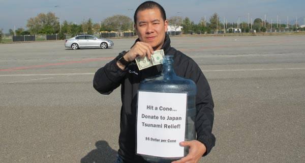 Donation to Japan tsunami victims