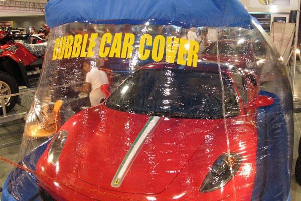 Bubble car cover