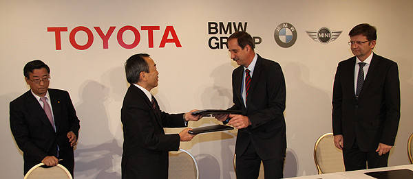 TopGear.com.ph Philippine Car News - BMW, Toyota team up to create next-generation green technologies