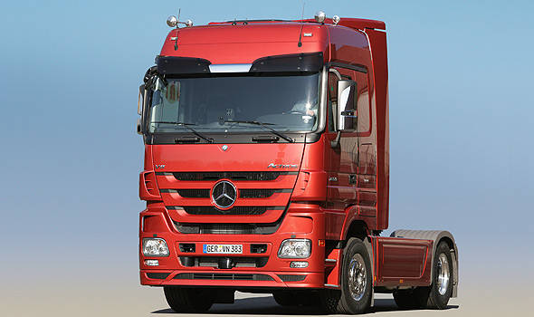 TopGear.com.ph Philippine Car News - CATS Motors brings in Mercedes-Benz trucks