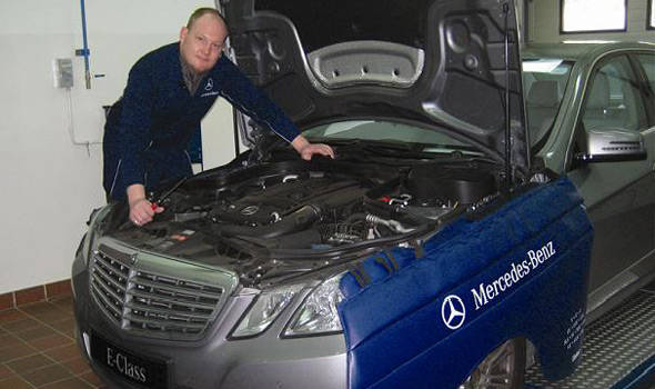 TopGear.com.ph Philippine Car News - Mercedes-Benz holds service clinic with its flying doctor
