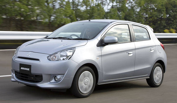 All-new Mitsubishi Mirage