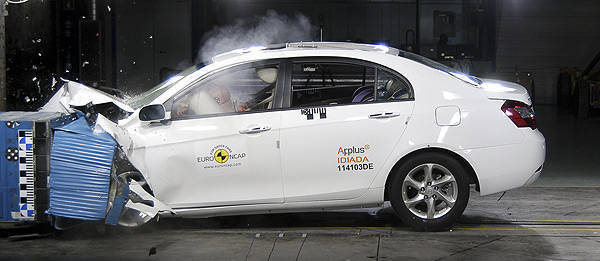 TopGear.com.ph Philippine Car News - Geely Emgrand EC7 receives Euro NCAP 4-star rating
