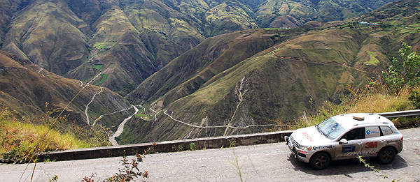 Volkswagen Touareg sets world record in driving from North to South America