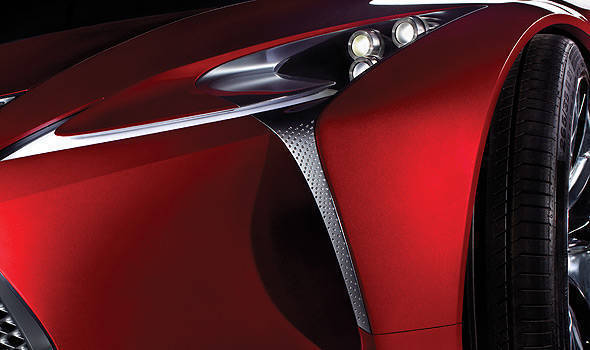 TopGear.com.ph Philippine Car News - Lexus to unveil new concept vehicle at Detroit Auto Show