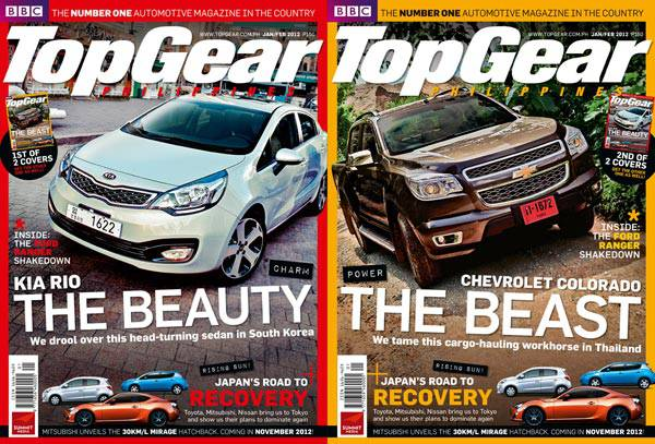 Top Gear Philippines' January/February 2012 issue