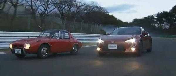 TopGear.com.ph Philippine Car News - Toyota 86 spends time on track with its progenitor