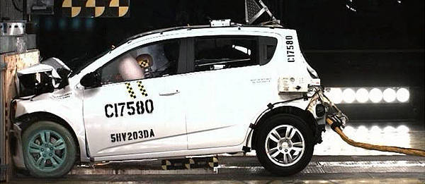 TopGear.com.ph Philippine Car News - Chevrolet Sonic earns top safety scores from US highway safety agency