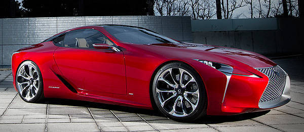 TopGear.com.ph Philippine Car News - Lexus unveils LF-LC Concept at Detroit Auto Show
