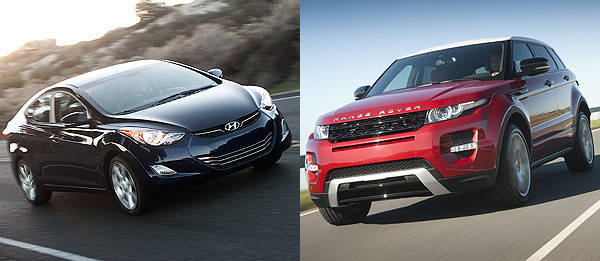 TopGear.com.ph Philippine Car News - Hyundai Elantra, Range Rover Evoque named as 2012 North American Car, Truck of the Year