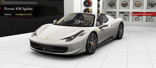 TopGear.com.ph Philippine Car News - Play with the Ferrari 458 Spider configurator