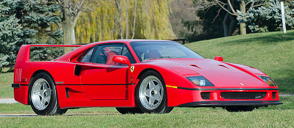 TopGear.com.ph Philippine Car News - Ferrari F40 built for ex-Chrysler boss up for sale