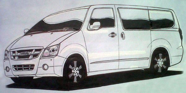 Isuzu Bravada concept