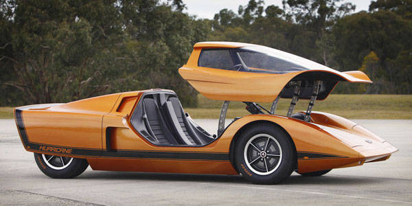 Holden Hurricane & What is the best car-door design ever?