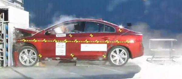 TopGear.com.ph Philippine Car News - Volvo S60 aces US highway safety agency crash tests