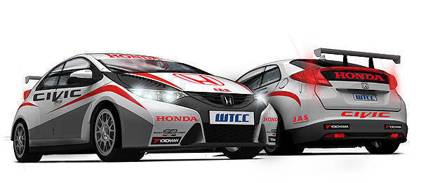 TopGear.com.ph Philippine Car News - Honda to enter Civic at World Touring Car Championship