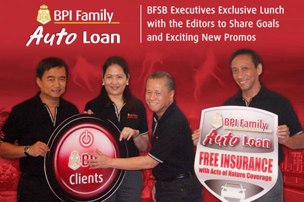 BPI Family Auto Loan