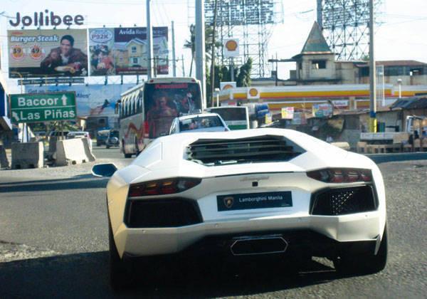 Lamborghini Aventador in Manila