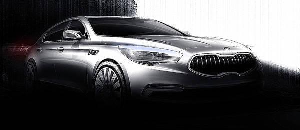 TopGear.com.ph Philippine Car News - Kia reveals sketches of all-new flagship sedan