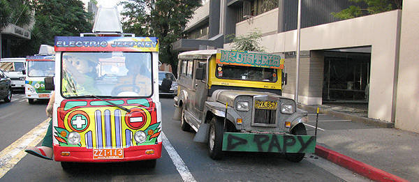 TopGear.com.ph Philippine Car News - LTFRB issues Philippines' first electric public utility jeep franchise