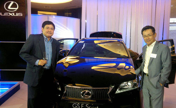 Lexus GS launch