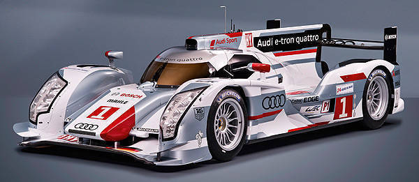 TopGear.com.ph Philippine Car News - Audi reveals its diesel hybrid Le Mans race car
