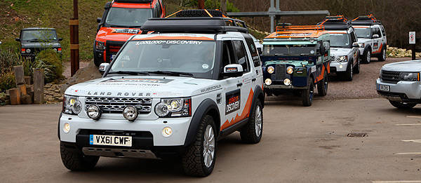TopGear.com.ph Philippine Car News - One millionth Land Rover Discovery to drive from Birmingham, England to Beijing, China