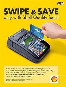 Pilipinas Shell Swipe and Save promo