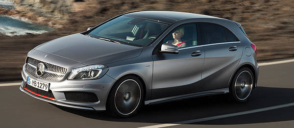 Geneva 2012: All-new Mercedes-Benz A-Class