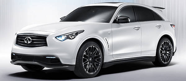 TopGear.com.ph Philippine Car News - Geneva 2012: Infiniti to produce limited run of its FX Sebastian Vettel Version