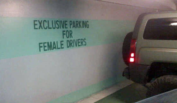 Parking assistance for women