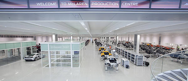 TopGear.com.ph Philippine Car News - McLaren Production Center receives industrial design award