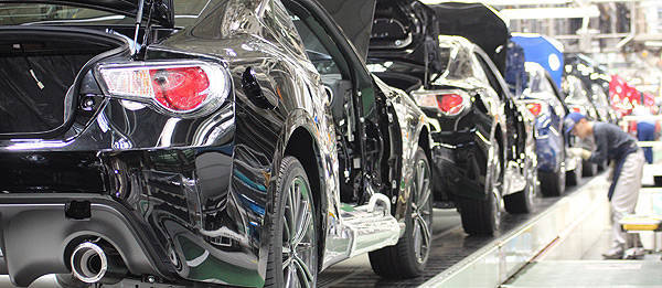 TopGear.com.ph Philippine Car News - Production of Subaru BRZ, Toyota 86 begins