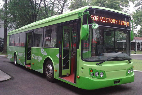 Victory Liner electric bus