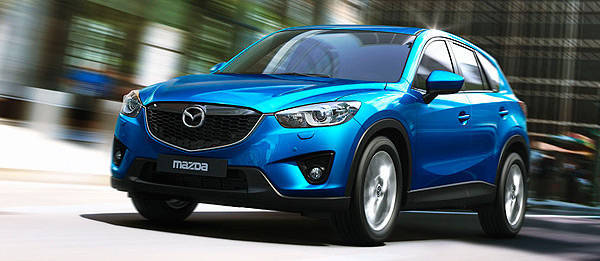 TopGear.com.ph Philippine Car News - Mazda CX-5 to come with crash avoidance system