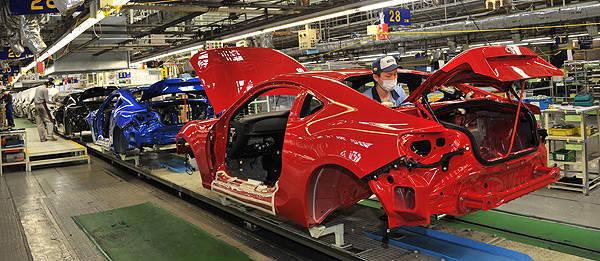 TopGear.com.ph Philippine Car News - Fuji Heavy Industries to build 100,000 BRZs, 86s annually