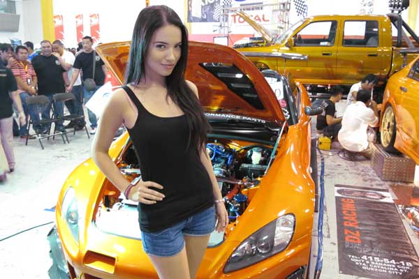 Hot Import Nights babe #5