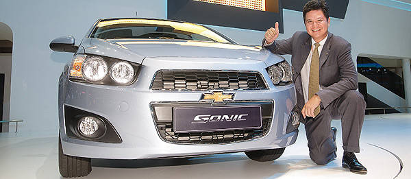 TopGear.com.ph Philippine Car News - Bangkok 2012: The all-new Chevrolet Sonic unveiled