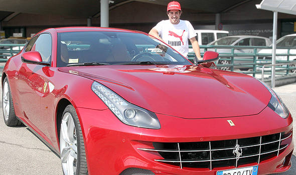TopGear.com.ph Philippine Car News - Ferrari gifts Alonso with FF for winning Malaysian Grand Prix