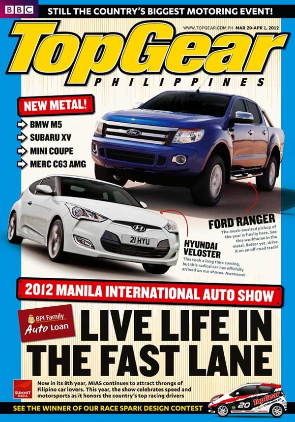 Top Gear activity book for MIAS 2012
