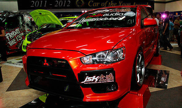 TopGear.com.ph Philippine Car News - MIAS 2012: 2010 Mitsubishi Lancer MX takes home 'Best of Show' trophy