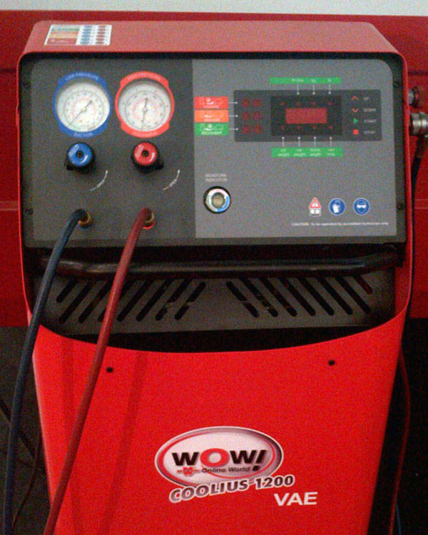 Würth A/C recovery system