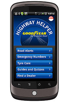 TopGear.com.ph Philippine Car News - Goodyear Philippines rolls out Highway Helper app