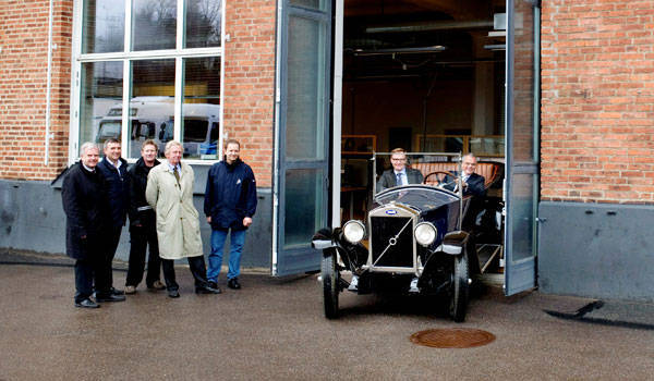 First-ever Volvo car