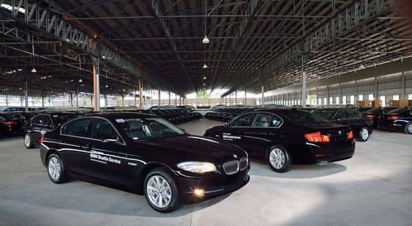 BMW 520d fleet