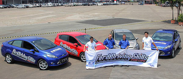 TopGear.com.ph Philippine Car News - Ford conducts refresher training for its Driving Skills for Life instructors