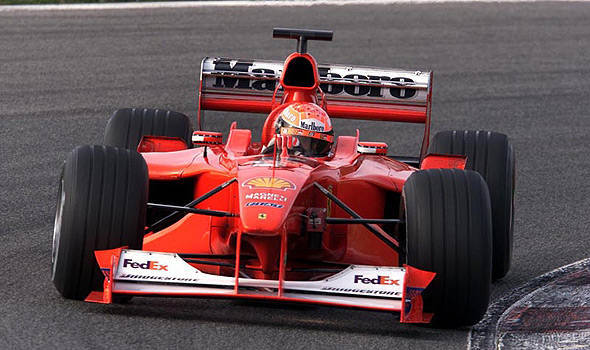 Michael Schumacher-driven Ferrari F1 car to be auctioned off