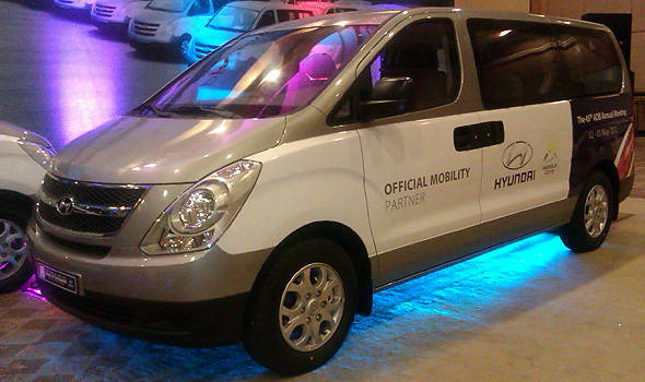 TopGear.com.ph Philippine Car News - HARI to provide Hyundai Grand Starex for ADB Annual Governors' Meeting