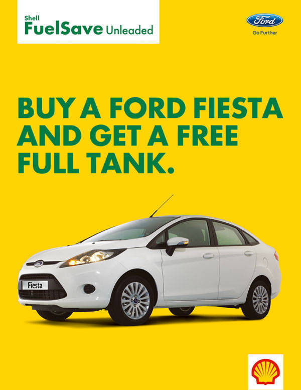 Shell-Ford Fiesta promo